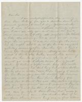 Letter addressed to Sue B. Bradford, Pine Hill
