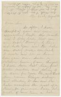 August 30th letter to Mrs. N. W. Eppes from her mother
