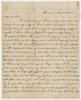 """Jan. 3rd 1854 letter to """"My dear Pa"""""""