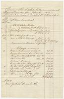 Account Sale of 29 Bales Cotton received per Sch. Harriet Brewster from Sn Marks, sold in Liverpool on account & risk of Dr. E. Bradford
