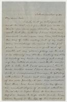 """Letter addressed to """"My dear Jen"""""""
