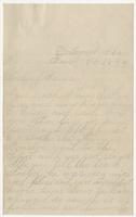 """Letter to """"Darling Mama"""" from Susan's daughter Martha"""