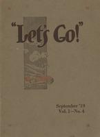 Let's Go: September '19, Vol 1.-No.4