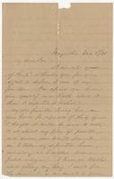 """Letter addressed to """"My dear Sue"""" from M.H. Branch"""