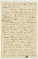 Letter from J.E. Whitehead