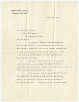 Letter to Mrs. Eppes from Jessie Ball duPont (Mrs. Alfred I. DuPont), Page 1