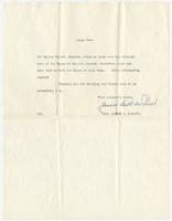 Letter to Mrs. Eppes from Jessie Ball duPont (Mrs. Alfred I. DuPont), Page 2