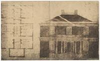 Blueprints for plantation house