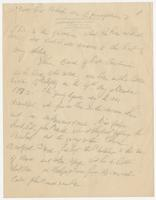 Handwritten family history by Susan Bradford Eppes