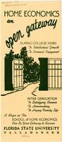 Information on the School of Home Economics (1952)