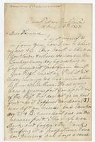Letter to Hennie from T.H.B.C.