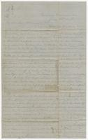 """Letter addressed to """"My Own Dear Hennie, my darling"""" from T.H.B. Campbell"""