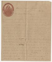 Letter to Hennie from Tom on Genl. G.T. Beauregard.C.S.A. paper