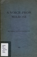 A voice from Melrose