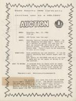 Holiday Auction Announcement