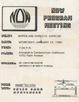 NOW Program Meeting