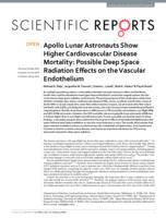 Apollo Lunar Astronauts Show Higher Cardiovascular Disease Mortality