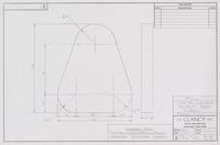 """1"""" THK STL Clew Blank for safety Arbor 2 - Req'd"""