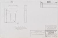 "1"" THK STL Plate Blank for Deadman Clivis Pin"