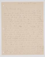 """Letter from Mama to """"My Dearest Rich,"""" August 30, 1888"""