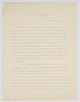 Official request from Richard H. Leigh to temporarily detach from the U.S.S. Princeton in order to study steam engineering