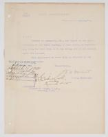 Order from the Navy Department for Richard H. Leigh to proceed to Annapolis, Md.