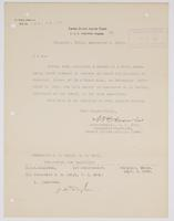 Order from the Rear Admiral for R. H. Leigh to report to Commander J. H. Dayton