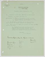 W. C. Cowles requesting an added reference to the inspection of the Galveston