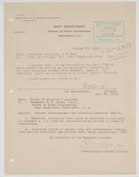 Correspondence between R. H. Leigh and Navy Pay Officer