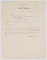 Order from the Navy Department requesting Richard H. Leigh to file letters with official record