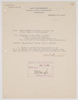 Order from the Office of Naval Operations for Experimental Firing on board the U.S.S. Arizona
