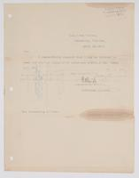 Request from R. H. Leigh to receive information