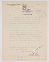 Order from the Bureau of Navigation regarding Richard H. Leigh's leave of absense and his current assigned duties