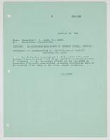 Letter to the Department of Operations from R. H. Leigh