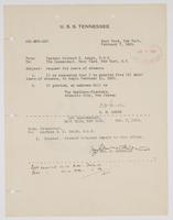 Richard H. Leigh's request for five days leave of absence