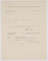 Acceptance of orders from Richard H. Leigh
