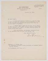 Letter to Leigh from L. C. Palmer