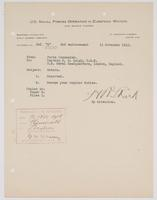 Reported orders for R. H. Leigh