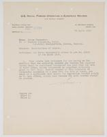 Modification of orders for Richard H. Leigh