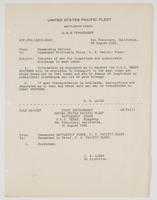 Correspondence between R. H. Leigh, J. A. Logan, and G. C. Pegram regarding the transfer of men for inaptitude and undesirable discharge