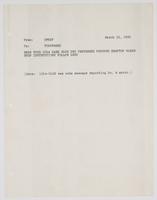 Correspondence between the U.S.S. Tennessee and OPNAV