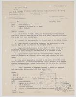 Richard H. Leigh's assigned orders detaching him from duty on board the U.S.S. Corsair, and Victor Blue's orders revoking them