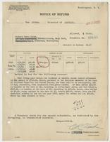Richard H. Leigh's Notice of Refund