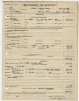 Richard H. Leigh's Statement of Account