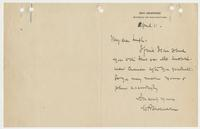 Letter to Leigh from W. R. Shoemaker