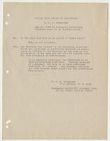 Excerpt copied from report of inspection of the U.S.S. Tennessee