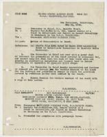 Letter of Commendation to Board