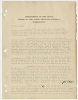 Letter to Leigh from J. L. Latimer