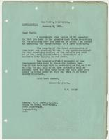 Letter to Admiral W. V. Pratt from R. H. Leigh