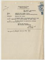 Richard H. Leigh's request for a seven-day leave of absence